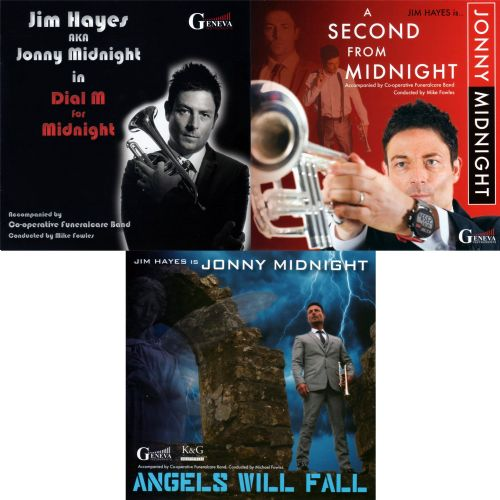 Dial M For Midnight / A Second From Midnight / Angels Will Fall - Jim Hayes 3CD Music Albums Bundle